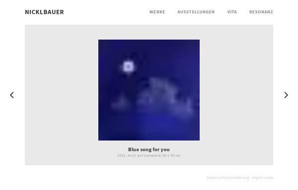 Vorschau von nicklbauer.de, Nicklbauer, Karl Georg