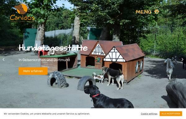 Vorschau von www.canidos.de, Hundezentrum Canidos GmbH