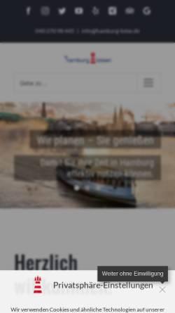 Vorschau der mobilen Webseite www.hamburg-lotse.de, Hamburg Lotse