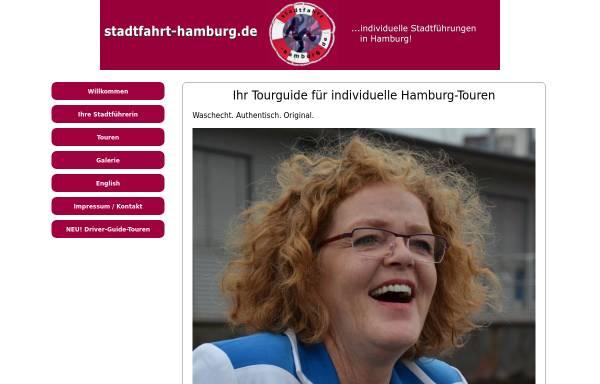Vorschau von www.stadtfahrt-hamburg.de, Individuelle Stadtführungen