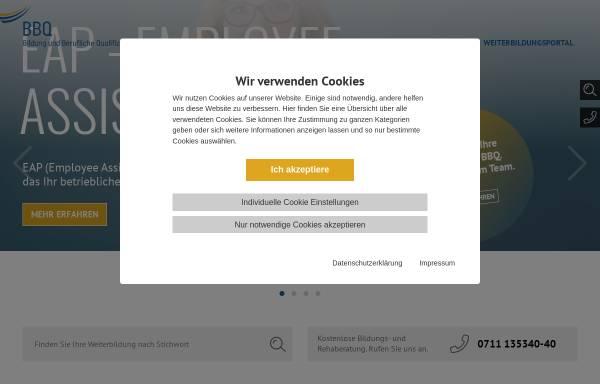 Vorschau von www.bbq-online.de, Bildungswerk der Baden-Württembergischen Wirtschaft e.V. (BBQ)