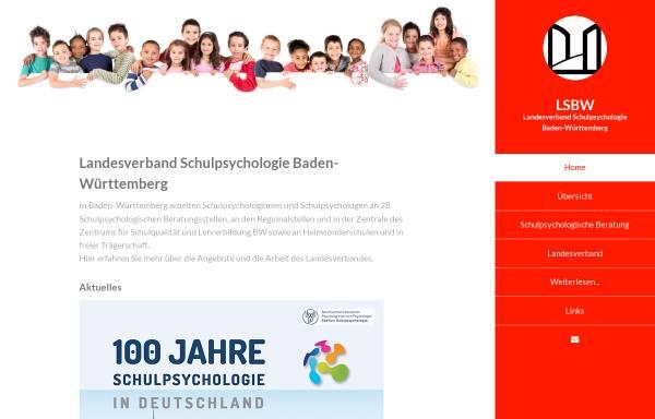 Vorschau von www.schulpsychologie-bw.de, Landesverband der Schulpsychologen in Baden-Württemberg