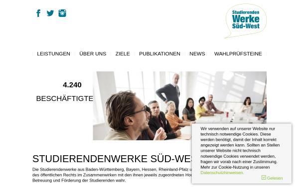 Vorschau von www.studentenwerke-bw.de, Studentenwerke Baden-Württemberg