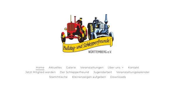 Vorschau von www.busf.de, Bulldog- und Schlepperfreunde Württemberg e. V.