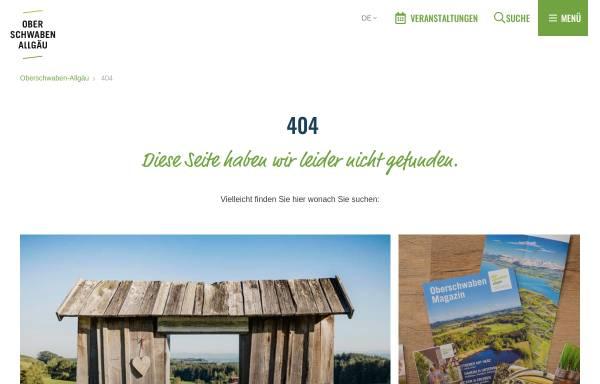 Vorschau von www.barockstrasse.de, Oberschwäbische Barockstrasse