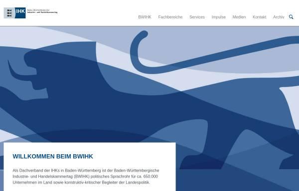 Vorschau von www.bw.ihk.de, IHK - Standortinformationssystem Baden-Württemberg