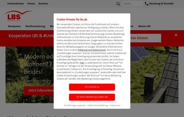 Vorschau von www.lbs.de, LBS Baden-Württemberg