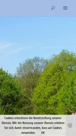 Vorschau der mobilen Webseite draisinentour.de, Draisinentour - Erlebnis pur