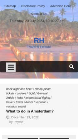 Vorschau der mobilen Webseite www.rollihotels.net, Rollihotels