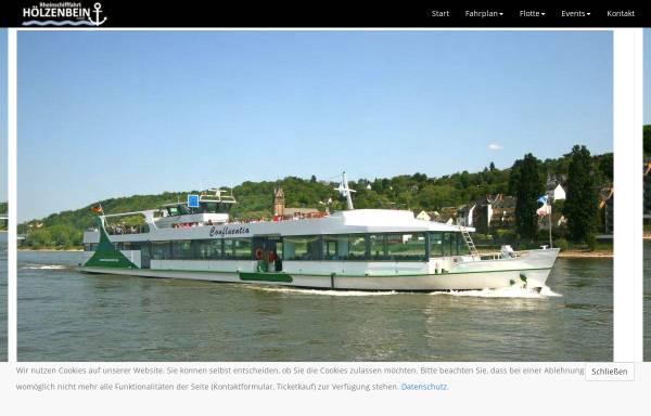 Vorschau von www.hoelzenbein.de, Schiffahrt Hölzenbein