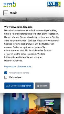 Vorschau der mobilen Webseite www.medienzentrum-rheinland.lvr.de, Medienzentrum Rheinland