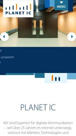 Vorschau der mobilen Webseite www.mvweb.de, MVweb GmbH & Co. KG