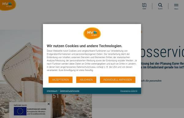 Vorschau von www.qualitaetskontor.de, Qualitätskontor Mecklenburg-Vorpommern