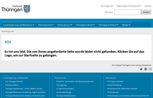 Vorschau von www.thueringen.de, Schulwesen in Thüringen