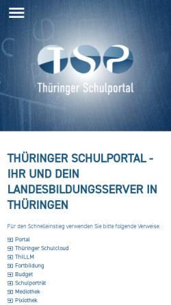 Vorschau der mobilen Webseite www.bildungssymposium.de, Thüringer Bildungssymposium