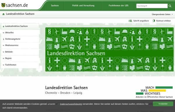 Vorschau von www.ld-dresden.de, Landesdirektion Dresden