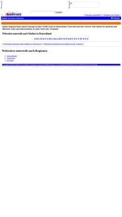 Vorschau der mobilen Webseite bellnet.de, Bellnet: Städte und Gemeinden