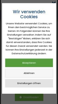 Vorschau der mobilen Webseite www.friedheim-apotheke.de, Friedheim Apotheke