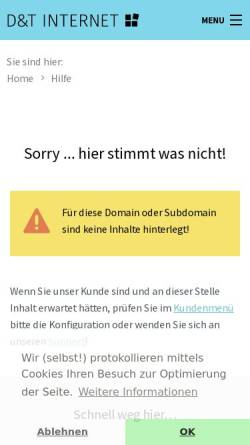 Vorschau der mobilen Webseite pinneberg.pi.jrk.de, Jugendrotkreuz Pinneberg