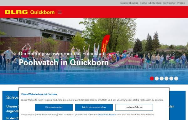 Vorschau von quickborn.dlrg.de, DLRG Quickborn e.V.