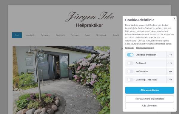 Vorschau von www.idemed.de, Heilpraktiker Jürgen Ide