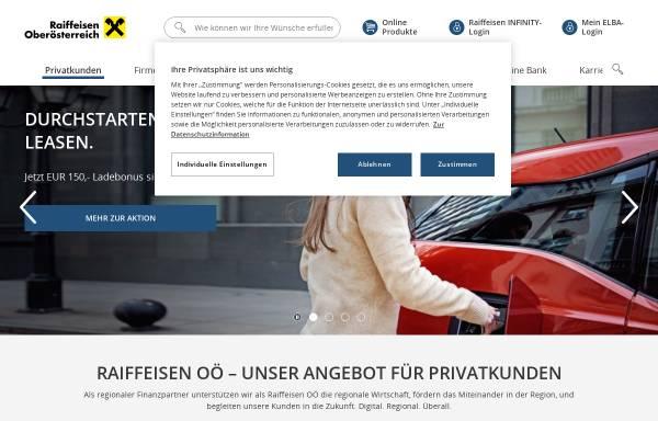 Vorschau von www.raiffeisen-ooe.at, Raiffeisenlandesbank Oberösterreich Aktiengesellschaft
