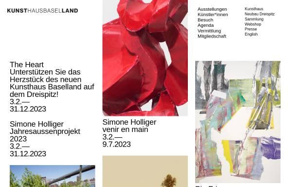 Vorschau von www.kunsthausbaselland.ch, Muttenz, Kunsthaus Baselland