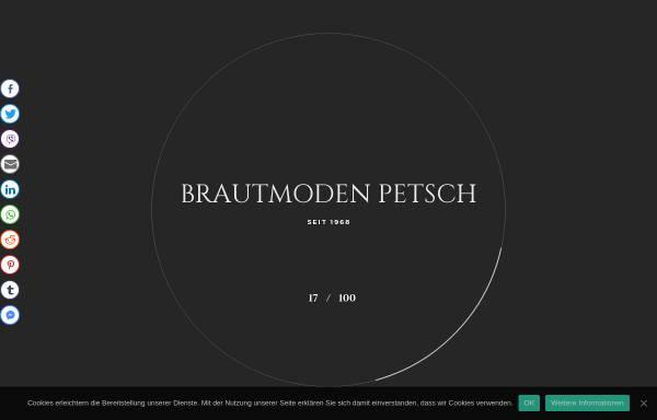 Vorschau von www.brautmode-berlin.de, Brautmode Petsch