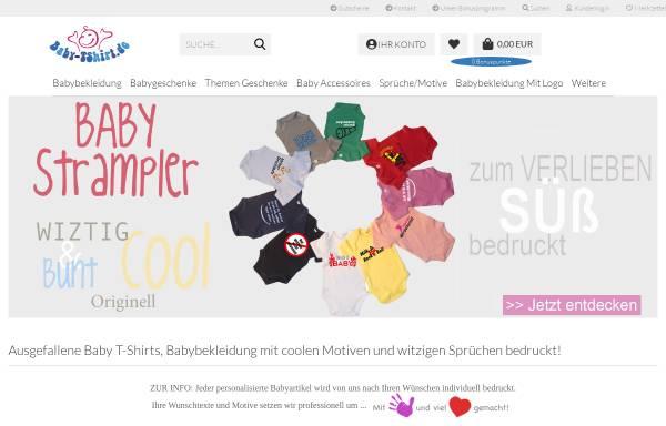 Vorschau von www.baby-tshirt.de, Baby T-Shirt, Ludwig Gutsmiedl
