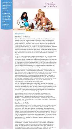 Vorschau der mobilen Webseite www.babydeluxe.de, Babydeluxe eK