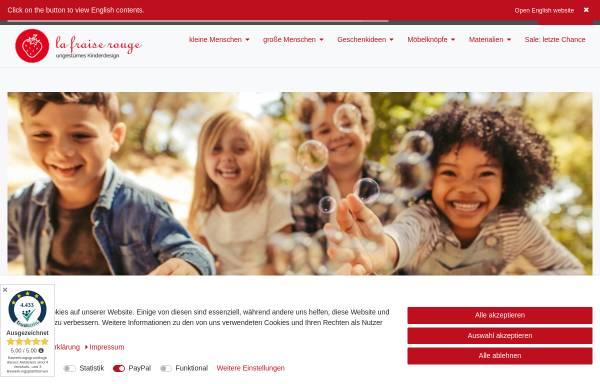 Vorschau von www.lafraiserouge.de, la fraise rouge, Ariane Dykiert