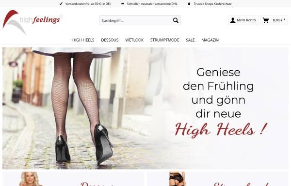 Vorschau von www.high-feelings.de, High Feelings, Claudia Liebold und Frank Lehmann GbR
