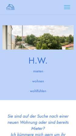 Vorschau der mobilen Webseite www.stiefel-laden.de, World of High Heels, Thomas Matysiak