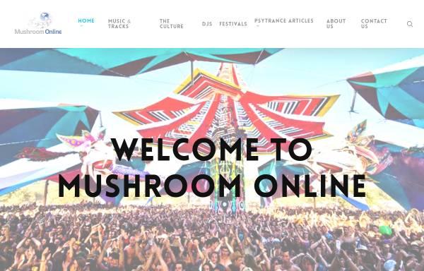 Vorschau von www.mushroom-online.com, mushroom online