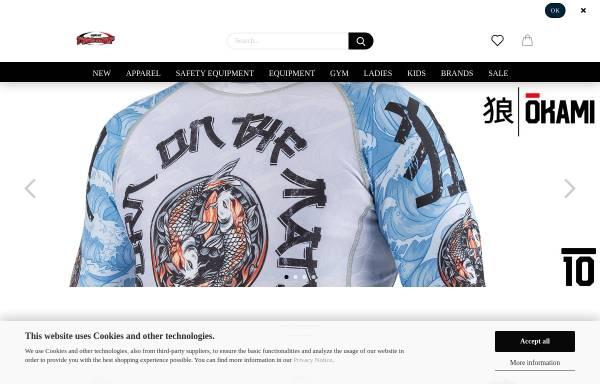 Vorschau von united-fightwear.com, United Fightwear