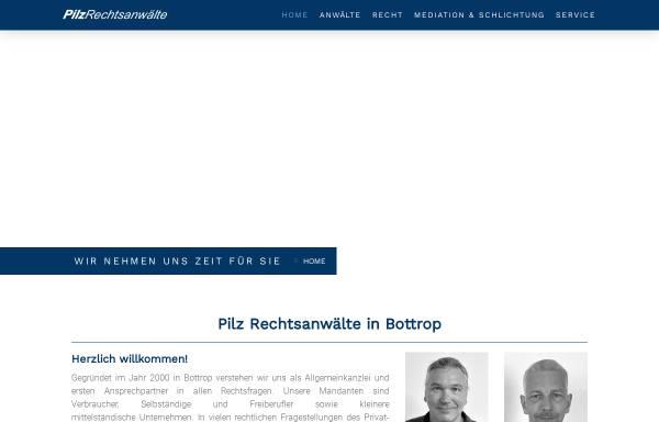Vorschau von www.pilz-rechtsanwaelte.de, Pilz Rechtsanwälte