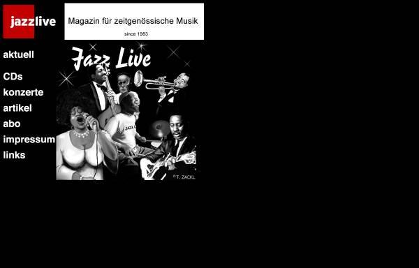 Vorschau von members.chello.at, JazzLive