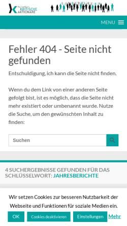 Vorschau der mobilen Webseite kritischeaktionaere.de, Kritische Aktionäre