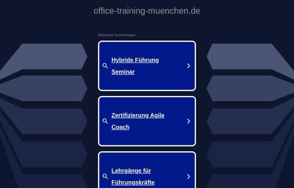 Vorschau von www.office-training-muenchen.de, Office-Training-München