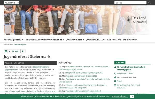 Vorschau von www.landesjugendreferat.at, Landesjugendreferat Oberösterreich