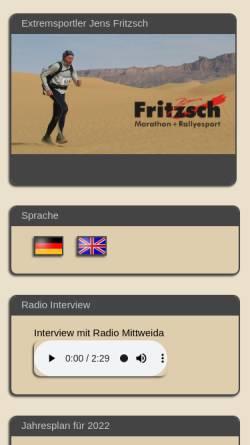 Vorschau der mobilen Webseite www.marathon-rallyesport.de, Fritzsch, Jens