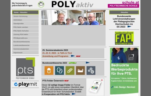 Vorschau von www.polyaktiv.at, Verein Poly aktiv