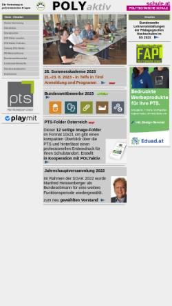 Vorschau der mobilen Webseite www.polyaktiv.at, Verein Poly aktiv