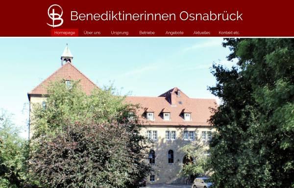 Vorschau von www.osb-os.de, Benediktinerinnen vom Heiligsten Sakrament, Osnabrück