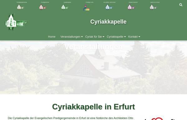 Vorschau von www.boer-ste.de, Cyriakkapelle