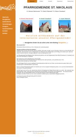 Vorschau der mobilen Webseite www.melchendorf.de, Gemeinde St. Nikolaus, Erfurt-Melchendorf