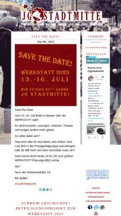 Vorschau der mobilen Webseite jg-stadtmitte.de, JG-Stadtmitte