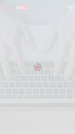 Vorschau der mobilen Webseite www.dssg.de, [de.soc.subkultur.gothic] dssg.de