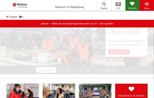 Vorschau von www.malteser-magdeburg.de, Diözese Magdeburg