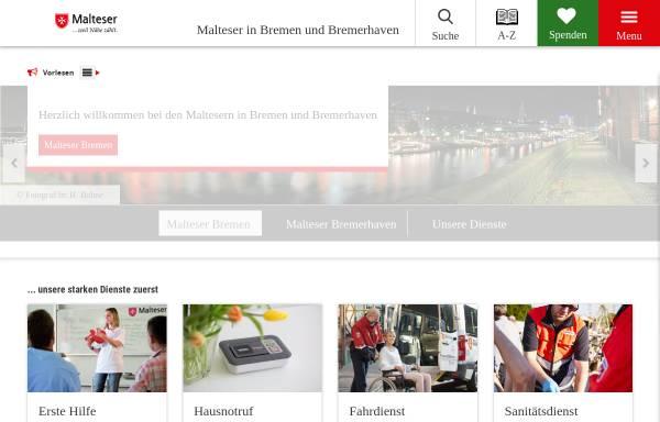 Vorschau von www.malteser-bremen.de, Landesgeschäftsstelle Bremen
